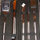 Barbecue set RVS